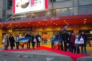 Délégation du Mouvement de la Paix au Forum