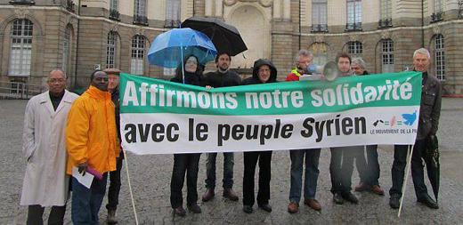 Le Mouvement de la Paix solidaire du peuple syrien