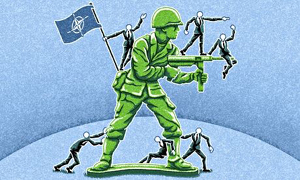 Far from keeping the peace, Nato is a threat to it