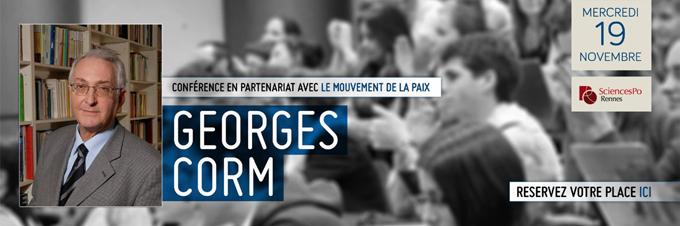 Conférence de Georges Corm à Rennes le 19 novembre 2014