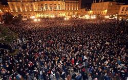 Manifestation à Rennes le 7 janvier 2015