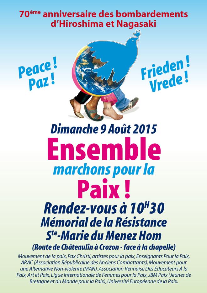 Ensemble marchons pour la paix!