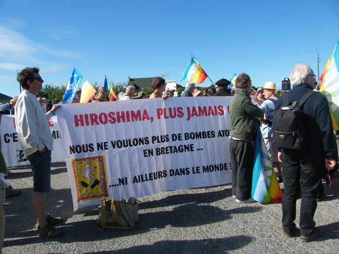 Marche du Ménez-Hom : Mobilisation militante