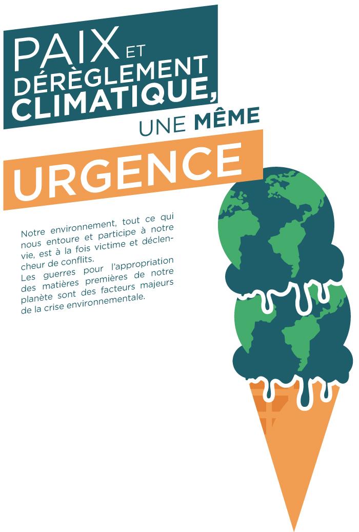 Paix et déreglement climatique, une même urgence