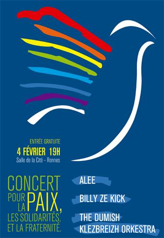 Concert pour la paix le 4 février 2016