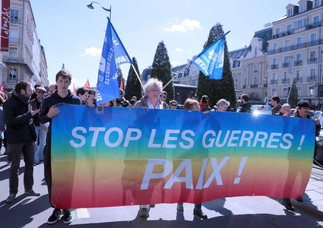 Mouvement de la paix le 1 mai 2016