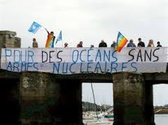 Pour des oceans et un monde sans armes nucléaires