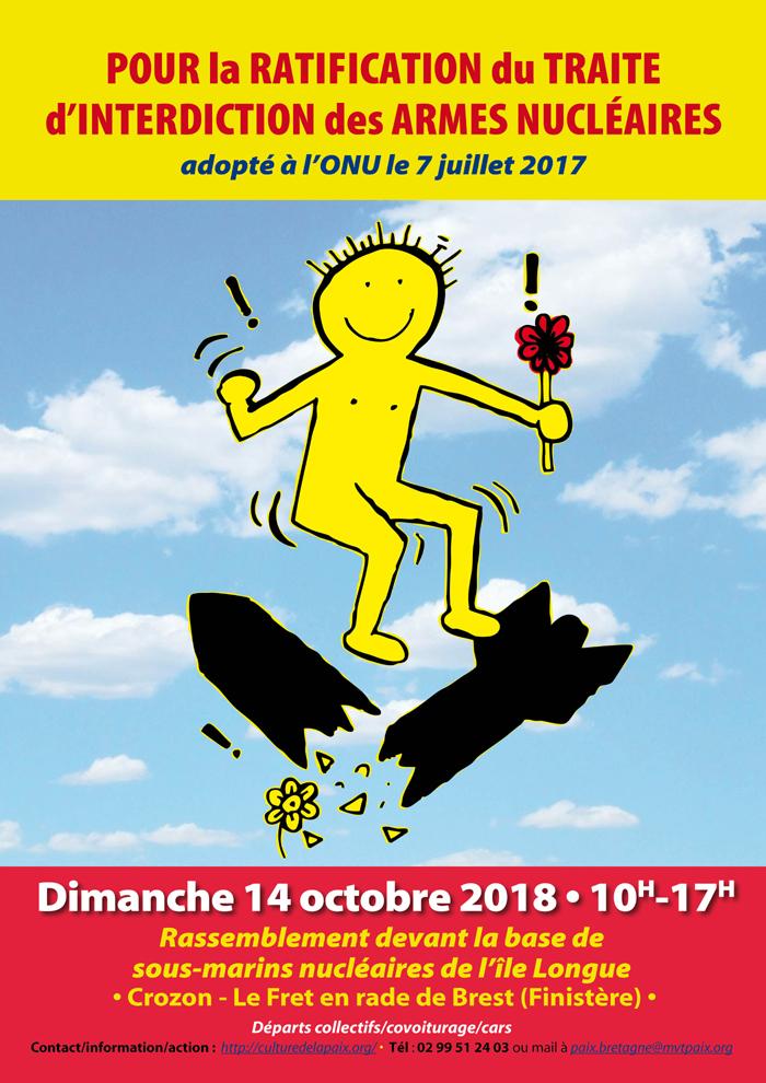 marche le 14 octobre 2018 à l'ile longue