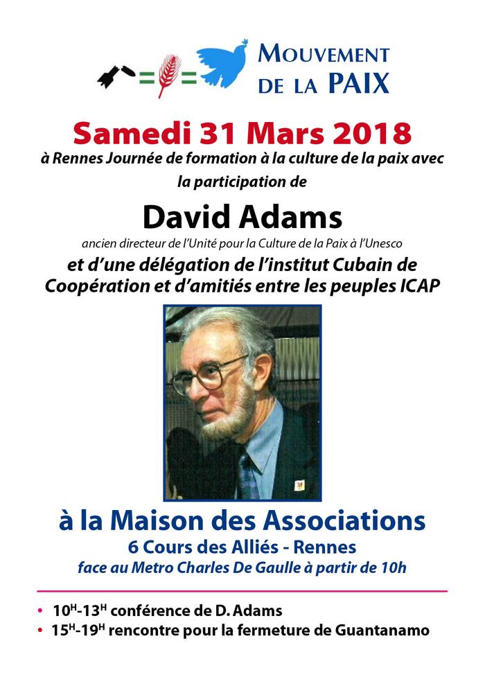 Journée de formation et de solidarité internationale à Rennes