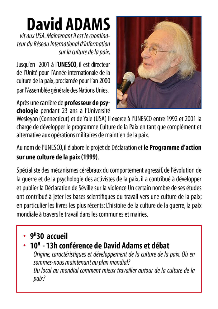 David Adams va visiter Rennes