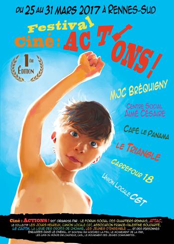 affiche Ciné Actions 2017