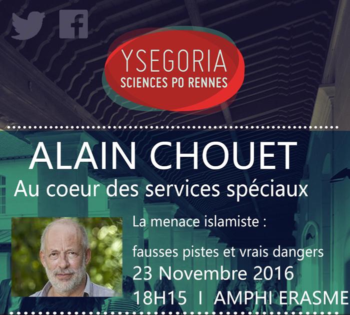 Alain Chouet à Rennes le 23 novembre 2016