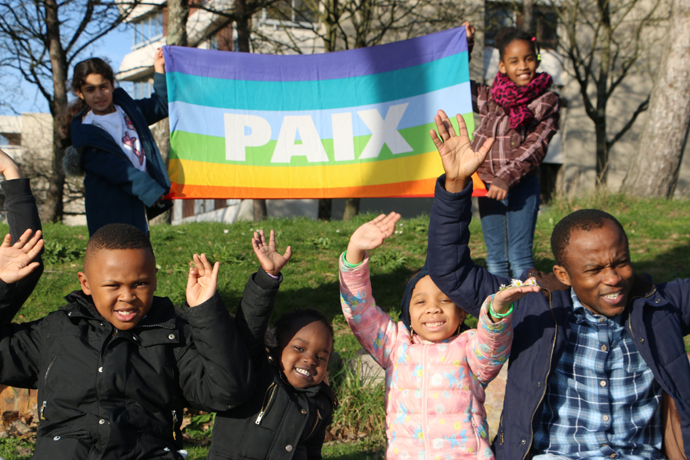 atelier paix et nonviolence à Rennes 2019