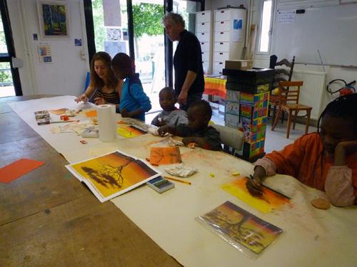 L'atelier des pastels
