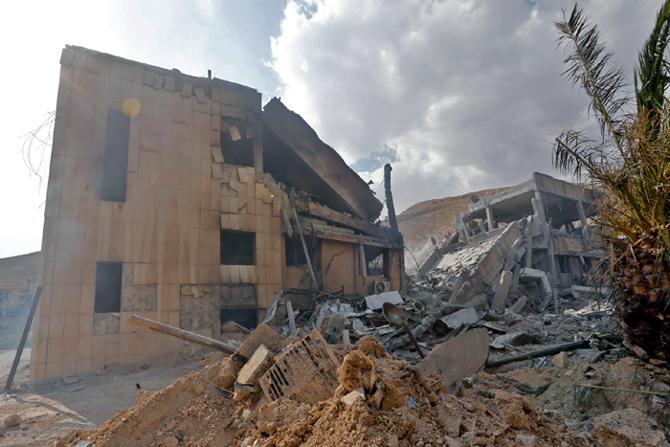 Barzeh, Syrie