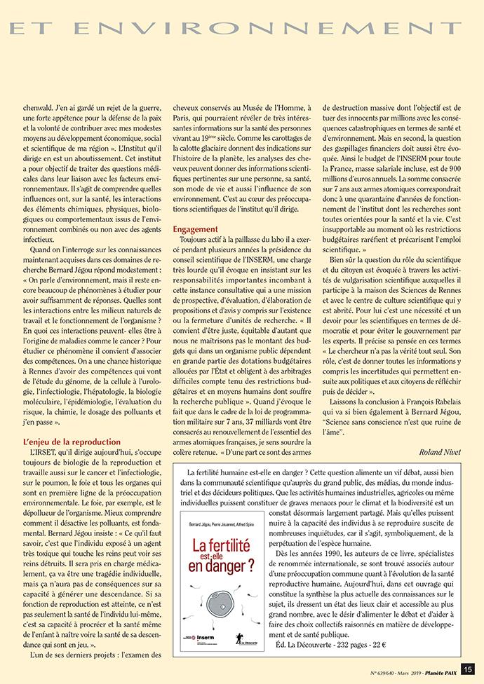 Bernard Jégou, un chercheur-constructeur (page 2)