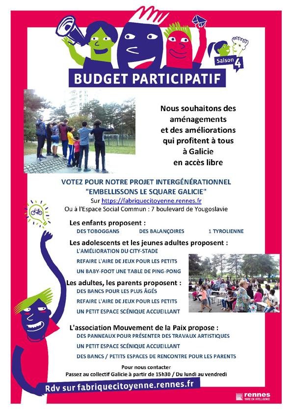 budget participatif rennes 2019