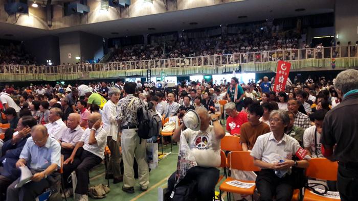 Conférence à Nagasaki contre les bombes A et H
