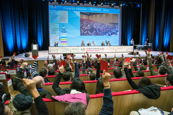 Congrès national du SNES-FSU 2018