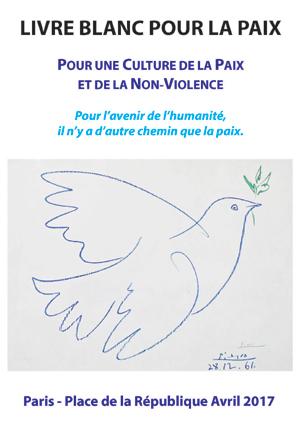 couverture du livre blanc de la paix