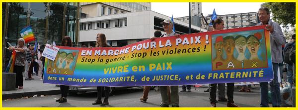 En marche pour la paix