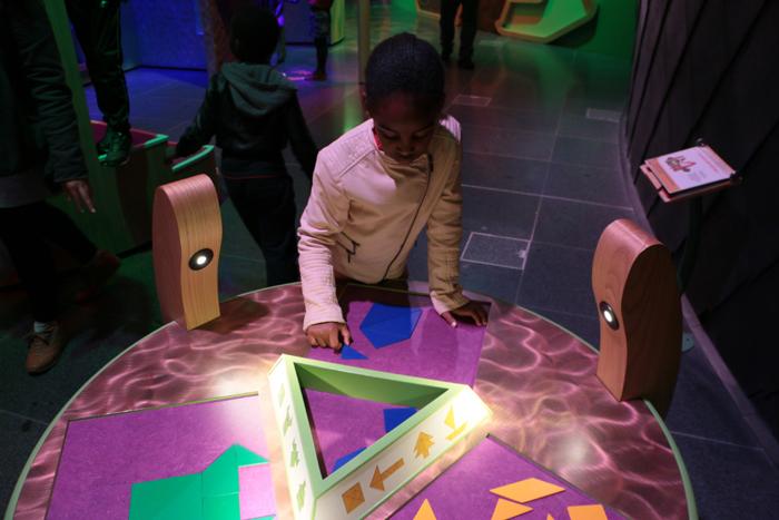 Labo de Merlin à l'Espace Sciences
