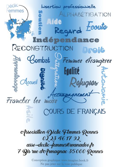 flyer Declic Femmes Rennes