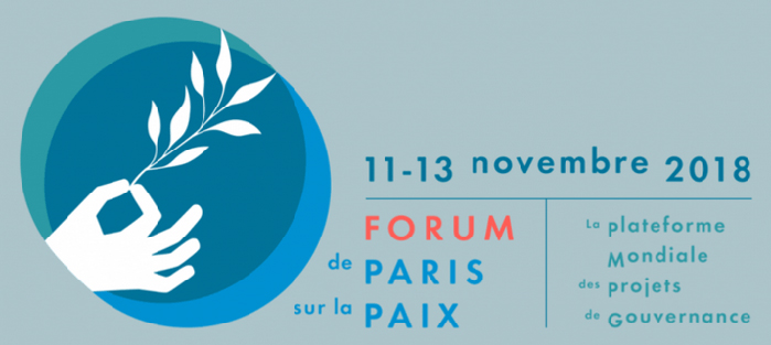 2018 Forum de Paris sur la paix