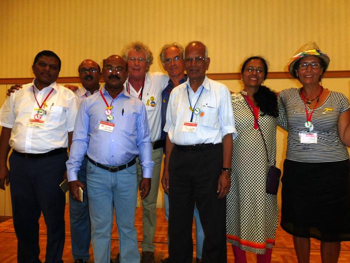 les pacifistes de France et d'Inde ensemble à Nagasaki