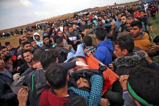 Gaza le 30 mars 2018