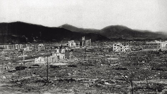 Hiroshima en 1945