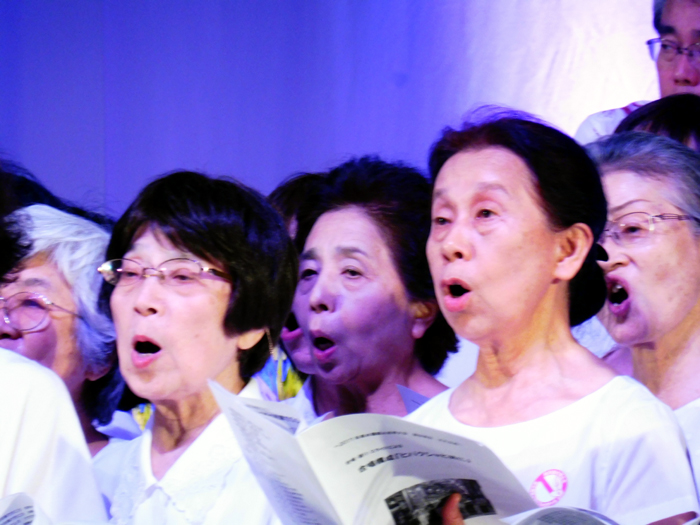 la chorale de Nagasaki