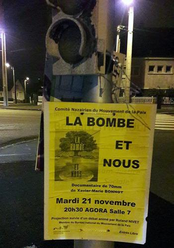 La bombe et nous a Sainte Nazaire