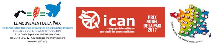La Bombe et Nous avec ICAN et le Mouvement de la Paix