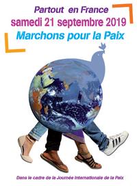 Marchons pour la paix, septembre 2019