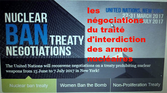 nuclear ban treaty negotiations 2017
