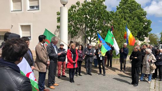 Ouest France : Rennes. L'autre 8 Mai commémoré, square de Sétif