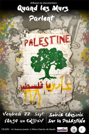 Quand les murs parlent, documentaire sur Palestine