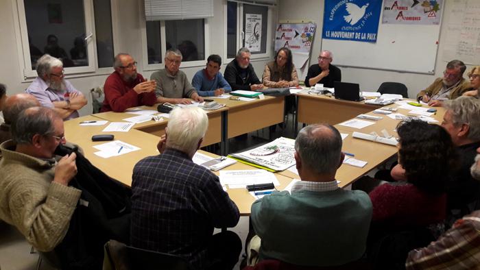 réunion de l'UEP et le Mouvement de la paix
