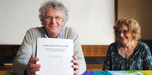 Roland Nivet coauteur du Livre blanc pour la paix