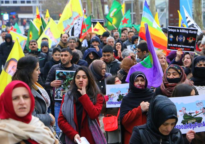 solidarite kurdes Rennes