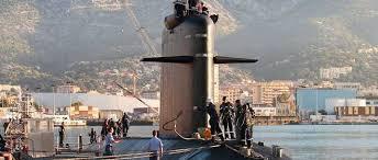 Sous-marins à coté de Brest