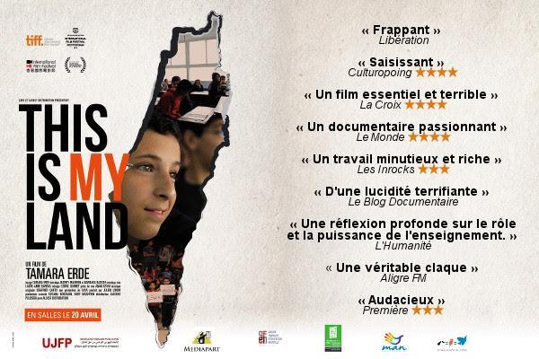 This Is My Land, film de Tamara Erde