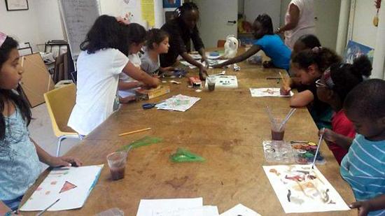 Des ateliers Art et paix pour les jeunes