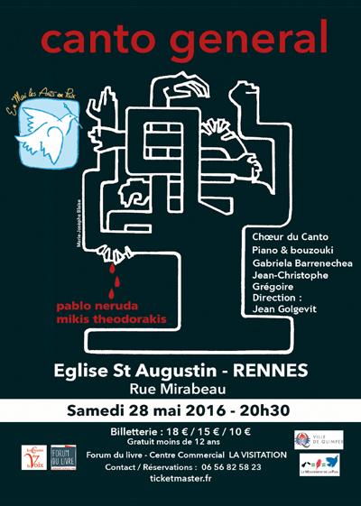 Canto general à Rennes