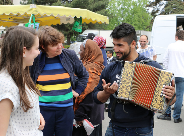 accordeoniste à Rennes