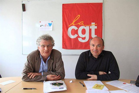 Roland Nivet et Thierry Gourlay