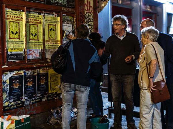 Affiches et débats à Rennes