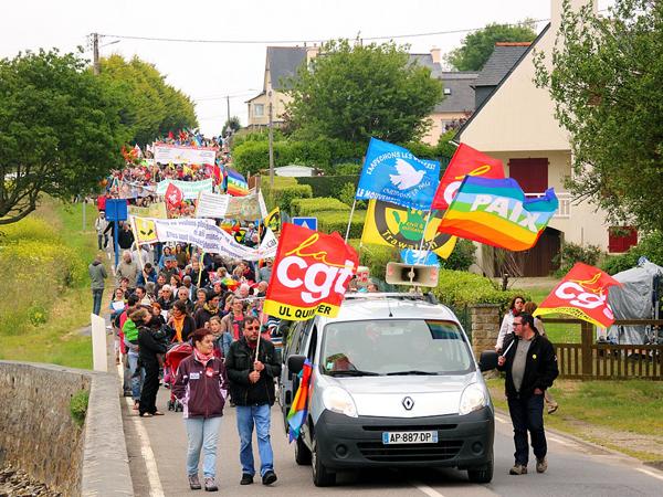 Marche du Festival Debout tout le Monde