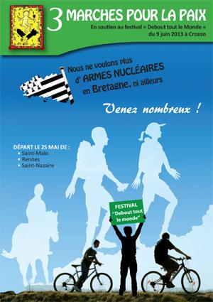 Marche pour la paix à Morlaix